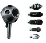 Оправки шестипозиционные для крепления патронов сверлильных,     головок резьбонарезных и центра ТИП 1380