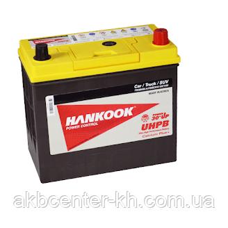 Автомобильный аккумулятор HANKOOK UMF 6СТ- 85А2 750А R