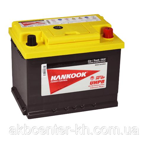 Автомобильный аккумулятор HANKOOK UMF 6СТ- 78А2 780А R