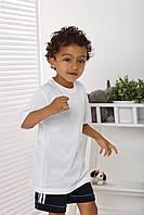Футболка белая детская Top-bis 110-122 см