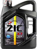 ZIC X7 LPG 5W-30 синтетическое моторное масло, 4 л (162672)