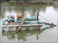 Очистка водоемов от водорослей, ила.