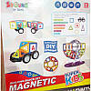 Магнитный конструктор 6008 Magnetic Super Kids 77 деталей, фото 3