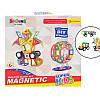 Магнитный конструктор 6008 Magnetic Super Kids 77 деталей, фото 4
