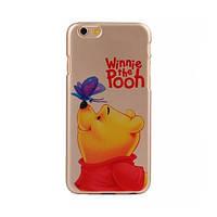 """Силиконовый чехол Disney для iPhone 6 4.7"""" Winnie Pooh"""