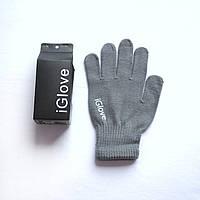 1011 сенсорные перчатки серые купить, фото 1