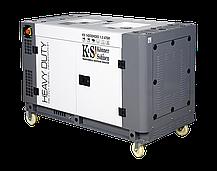 Генератор дизельный Konner&Sohnen KS14200HDES 1/3 ATSR (10 кВт), фото 2