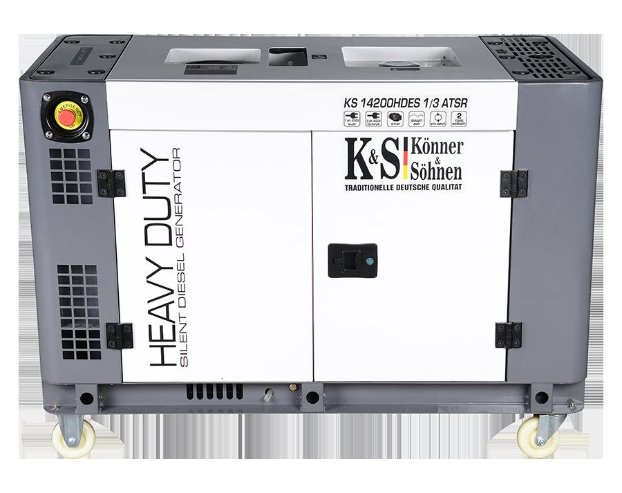 Генератор дизельный Konner&Sohnen KS14200HDES 1/3 ATSR (10 кВт)