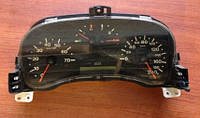 Панель приборов спидометр, одометр / щиток  Fiat Doblo 1.9d 46817748 / одна фишка