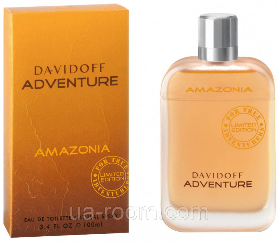 Davidoff Adventure Amazonia limited edition, мужская туалетная вода 100 мл.