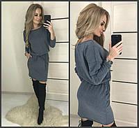 Повсякденне плаття з кишенями ангора софт AA-2640, фото 1