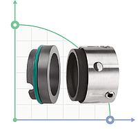 Торцевое механическое уплотнение R-59U-40/PTFE CAR/SIC/PTFE/304/BP