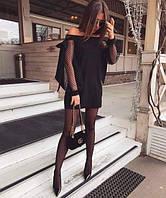 Ошатне плаття рукавами сітка