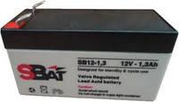 Аккумулятор SB Batteries 12 Вольт 1.3 А/ч