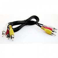 Кабель 3RCA to 3RCA аудио-видео, 3м