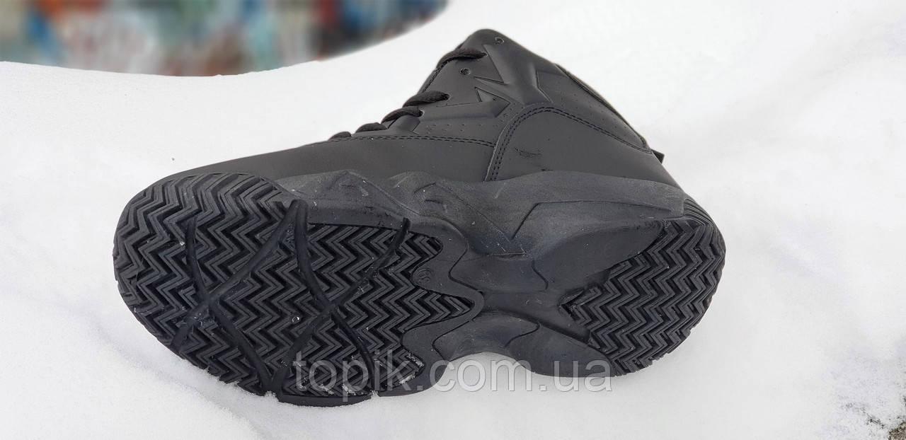 5109b8ed ... Улетные зимние кроссовки на платформе в стиле FILA черные на высокой  толстой подошве унисекс (Код ...