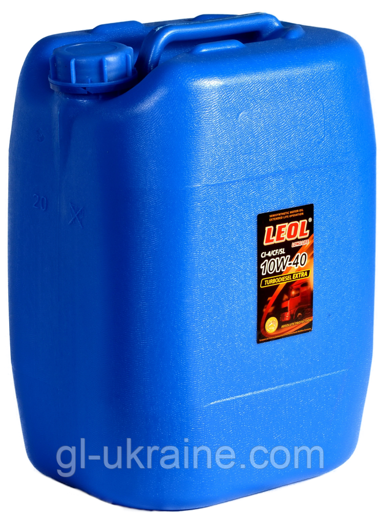 ЛЕОЛ TURBODIESEL EXTRA 10W-40, Моторное масло bag in box 20 л