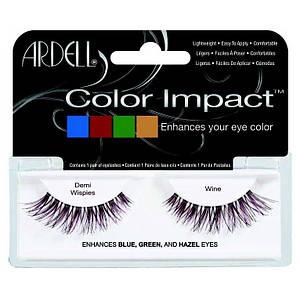 Накладные ресницы с цветом Ardell™ Color Impact Lashes - Wine
