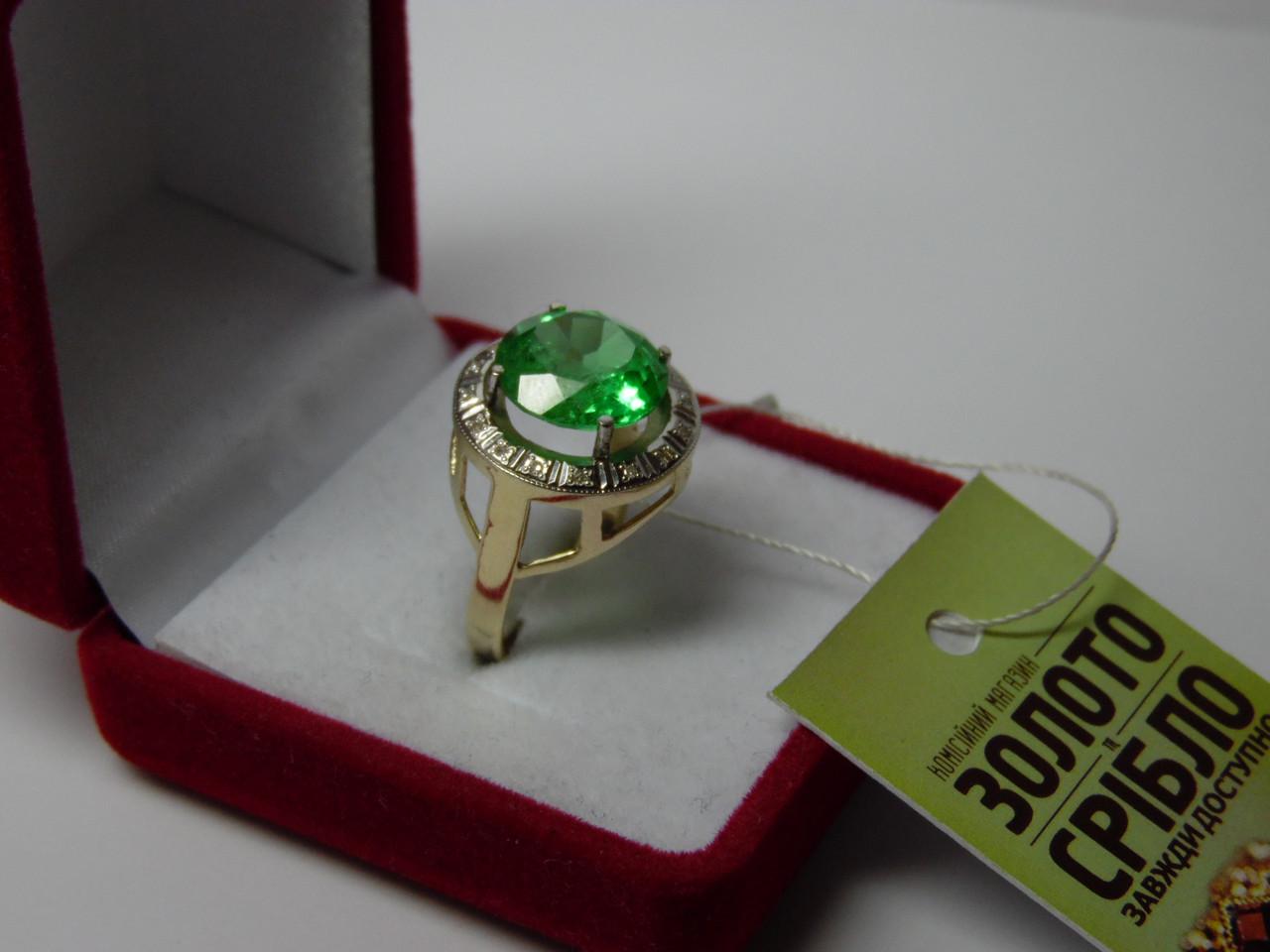 d116cd55f07a Золотое женское кольцо с бриллиантами. Размер 18,5  продажа, цена в ...