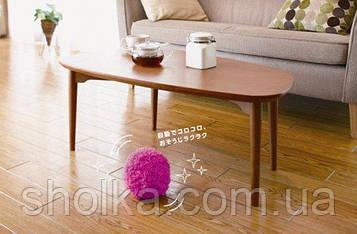 Мячик попрыгун для уборки пыли Microfiber mop ball Mocoro. Мини пылесос. Мячь пылесос.