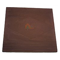 Плита парапетная 300х400 коричневая