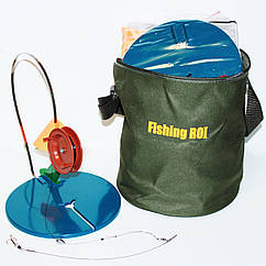 Жерлицы (оснащенные) для зимней рыбалки + подарок