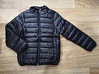 Куртка демисезонная на мальчика цвет черный 104-110 см, фото 1