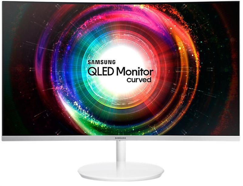 """Монитор Samsung 26.9"""" C27H711Q (LC27H711QEIXCI) VA White Curved"""