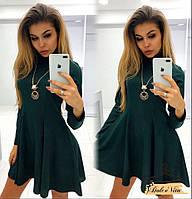 49ae25ae75a Женское красивое новогоднее платье с расклешенной юбкой (2 цвета)