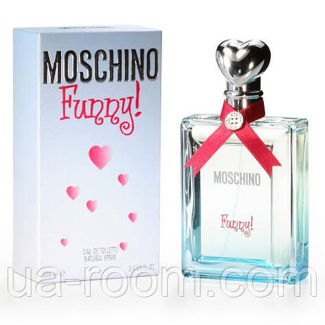 Moschino Funny, женская туалетная вода 100 мл., фото 2