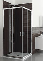 Квадратная душевая кабина Aquaform LAZURO 800x800x1850