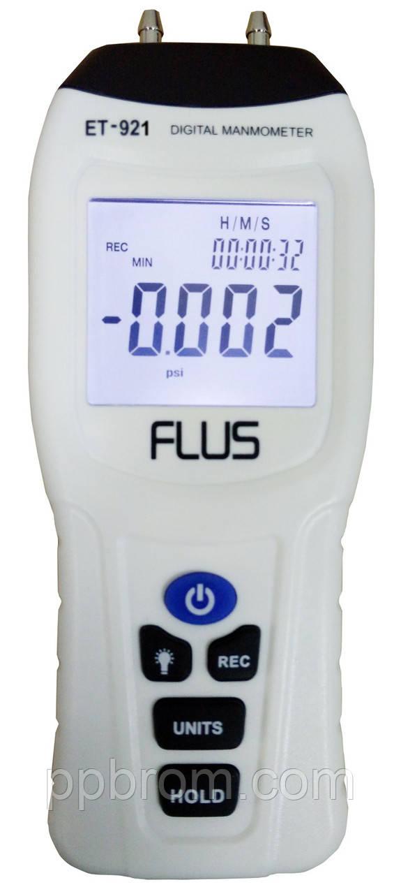 "Дифманометр Flus ""ET-921"" (±0.344 Bar)"