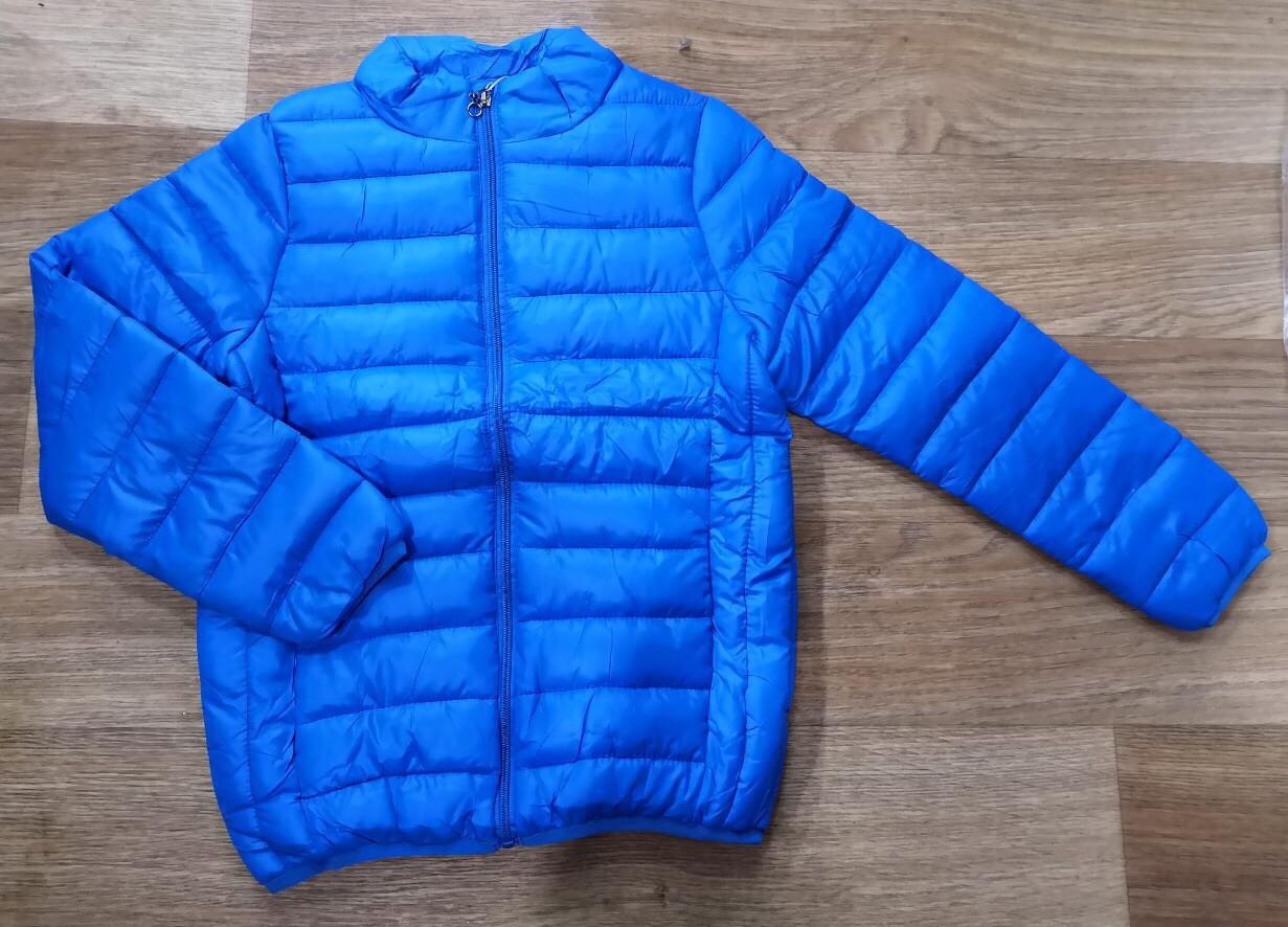 Куртка демисезонная на мальчика цвет синий