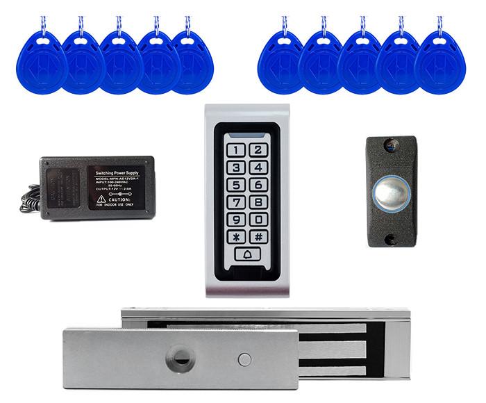 Комплект електромагнітний замок з кодовою клавіатурою