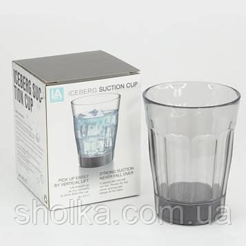 Стакан с присоской непроливайка suction cup
