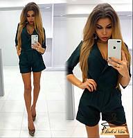 Женский стильный комбинезон-шорты (3 цвета), фото 1