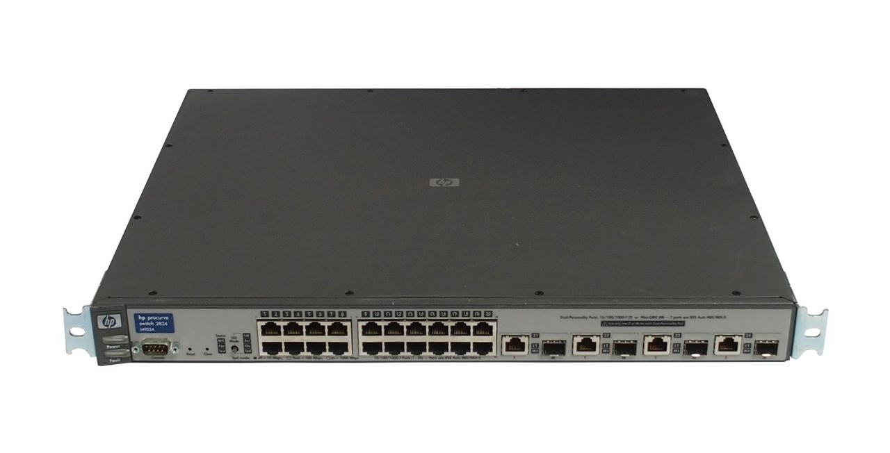 Коммутатор HP ProCurve Switch 2824 (J4903A) на 24 порта