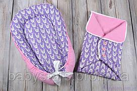 """Летний набор для новорожденного """"Funny rabbits"""""""