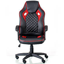 Крісло Mezzo black/red