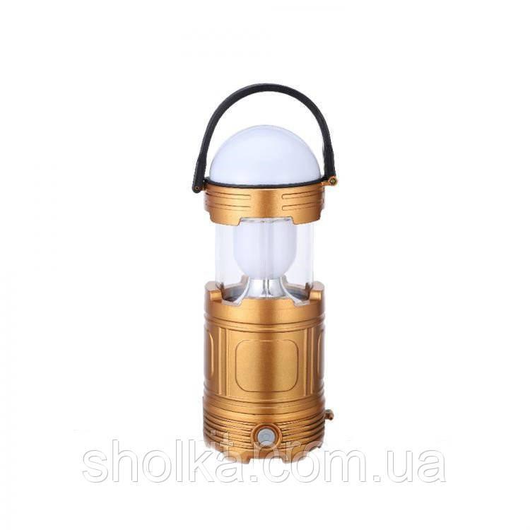 Фонарь Camping Light DS-5812 кемпинговый на солнечной батарее
