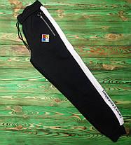 Штани OFF-White з лампасом Black, фото 3