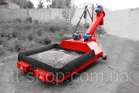 Хоппер разгрузчик вагонов для зерна 50 т/ч. двигатели 2 шт. по 3.0 кВт., фото 2
