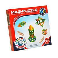 Магнитный развивающий 3D конструктор Kronos Toys Mag Puzzle 20 Деталей , фото 1