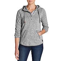 Пуловер Eddie Bauer Womens Radiator Fleece Pullover GRAY S Серый , фото 1