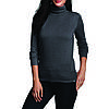 Пуловер Eddie Bauer Womens Christine Turtleneck Sweater KOHLE MELIERT