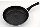Сковорода Benson с антипригарным мраморным покрытием с крышкой 26*5,0см, фото 2