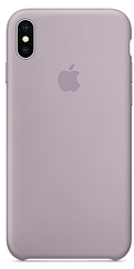 Чехол накладка Silicone Case для iPhone XS Max - Lavender
