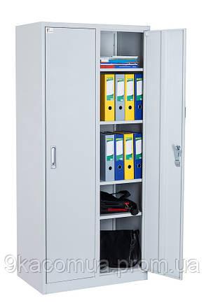 Офисный шкаф Ferocon ШБО 22-02-08х18х04-Ц-7035, фото 2