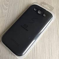 Силиконовый черный чехол Samsung Galaxy S3 i9300, S3 Duos