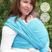 Слинг-шарф NEOBULLE Bleu Denim Coton Bio (4,1 м), фото 1